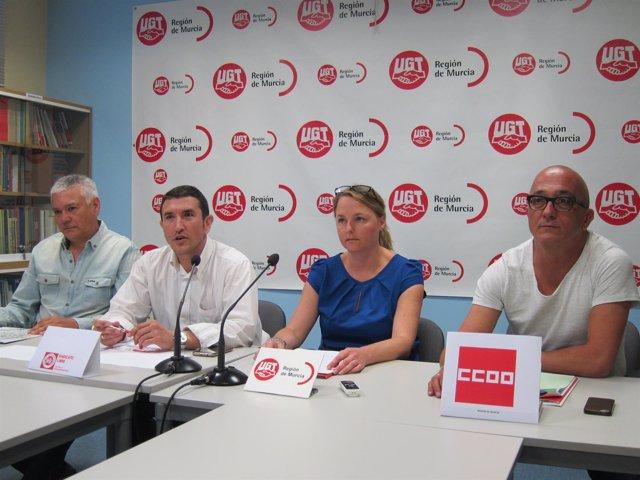 Los responsables de los sindicatos mayoritarios de Correos