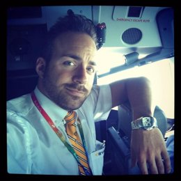Javier Otero, tripulante de Ryanair