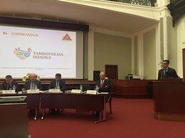 Rafael Fuertes interviene en el Consejo Empresarial España-Rusia