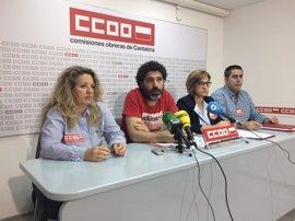 """El """"tijeretazo"""" del Gobierno al servicio postal hace peligrar 200 empleos en Correos Cantabria, según UGT y CC.OO"""