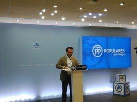 El PP de Málaga apunta que los acuerdos del Plan Costa del SAS tenían motivos electoralistas ante las primarias del PSOE