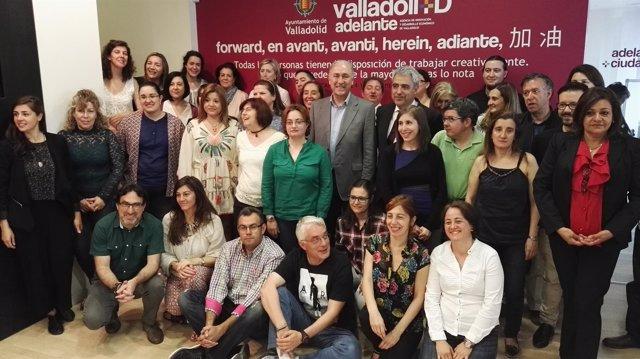Encuentro entre los participantes de las Lanzaderas de Empleo