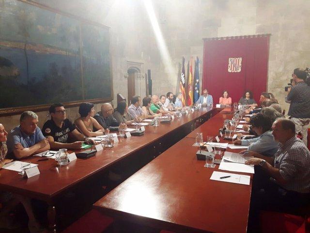 Reunión entre ANPE y el Govern