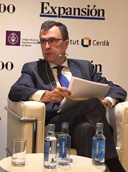 El alcalde, durante la presentación