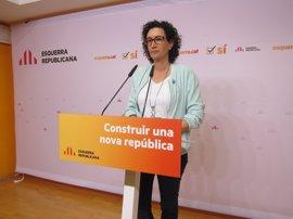 """ERC pide al Govern fecha y pregunta del referéndum ante el """"inmovilismo"""" de Rajoy"""