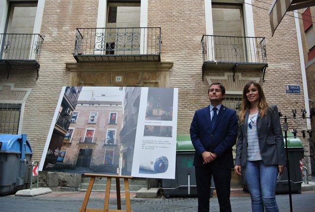 Jesús Pacheco y Rebeca Pérez