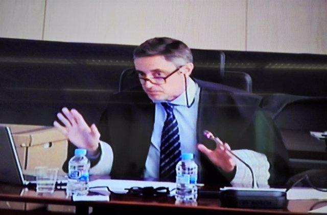El fiscal anticorrupción Emilio Sánchez Ulled en el juicio del caso Palau