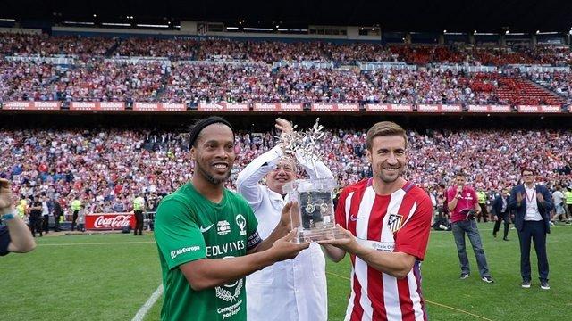 Final de leyenda en el Vicente Calderón