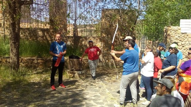 Los participantes en estas actividades han practicado tiro con arco.