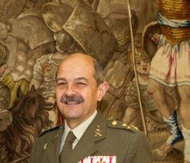 El teniente general Juan Campins, Segundo Jefe del Mando de la Fuerza Conjunta de la OTAN