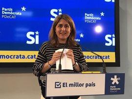 """El PDeCAT critica la """"aversión"""" del Gobierno al referéndum y el apoyo de Pedro Sánchez"""