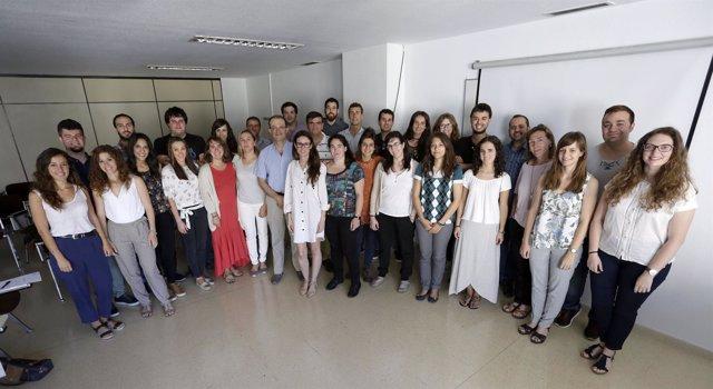 Grupo de residentes de Atención Primaria.