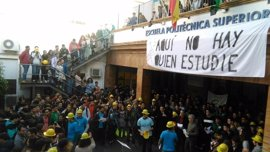 Alumnos de Politécnica de la Hispalense retomarán las protestas a inicios de curso si el nuevo proyecto sigue estancado