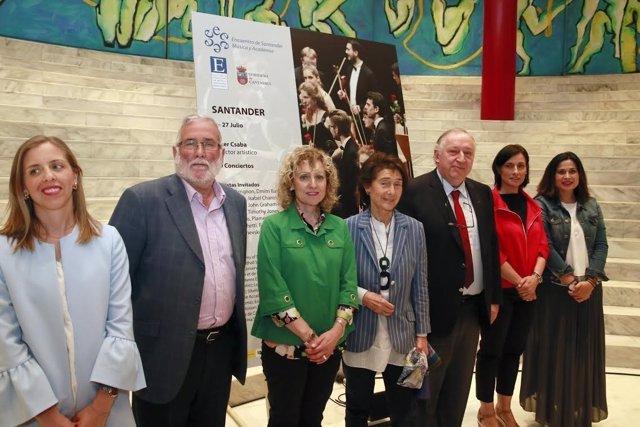 Presentación del Encuentro Santander Música y Academia