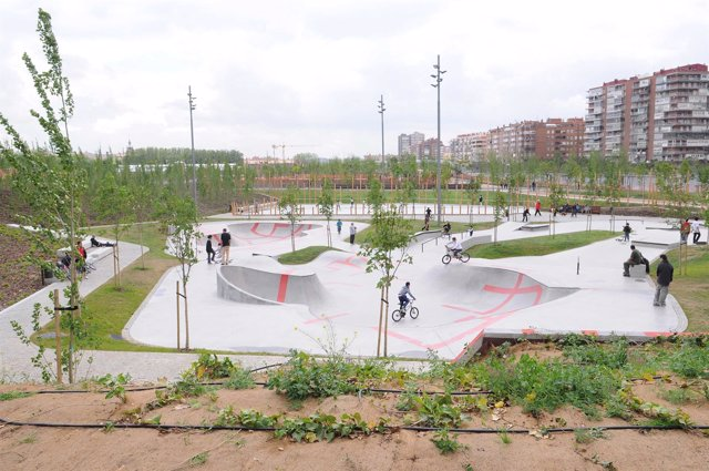 Skate Park De Madrid Río
