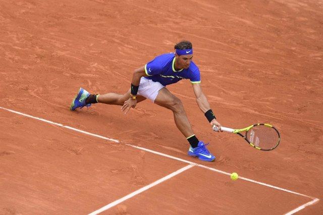 Rafa Nadal en Roland Garros