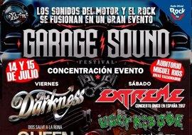 Sorteamos abonos para el Garage Sound Fest, con Extreme, The Darkness, Ugly Kid Joe y Thunder