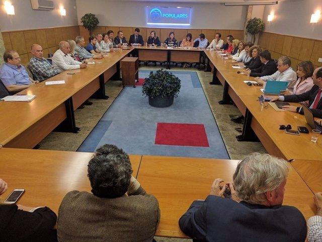 Comité Ejecutivo del PP de Cantabria 23 de mayo