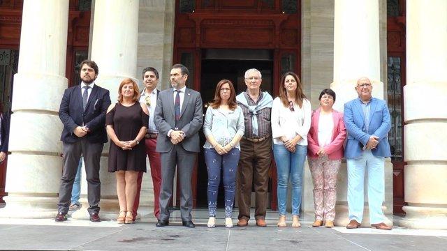 Cartagena se solidariza con las víctimas de la violencia de género