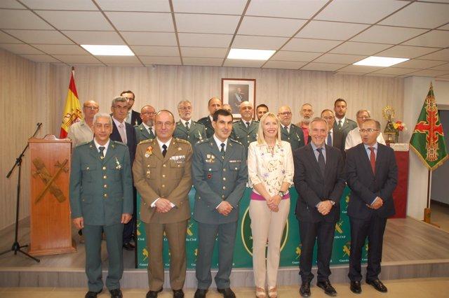 Celebración del 173 aniversario de la Guardia Civil