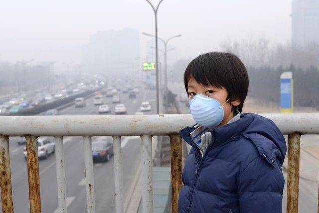 La contaminación y sus efectos negativos en niños