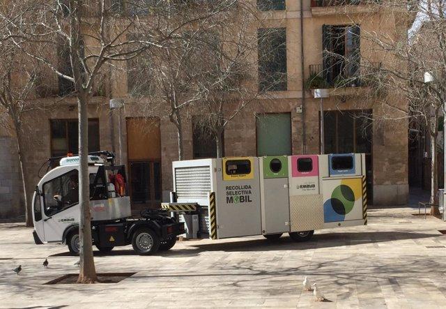 Nuevo servicio de recogida selectiva móvil en Palma