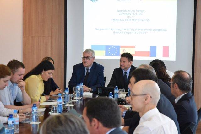 Una delegación del Gobierno de Ucrania visita el Puerto de Tarragona
