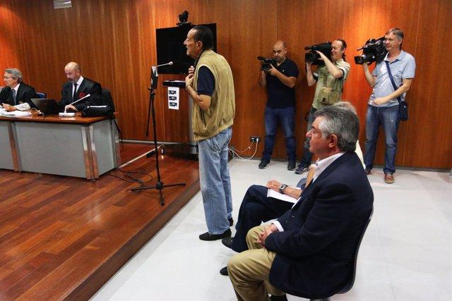 Muñoz y Roca en juicio Lorcrimar.