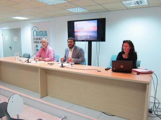 El conseller Vidal presenta el borrador de la Ley Agraria