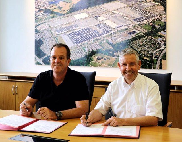 Acuerdo para fabricar un modelo eléctrico compacto en Rastatt (Alemania)