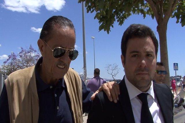 Julián Muñoz acude a los juzgados de Málaga