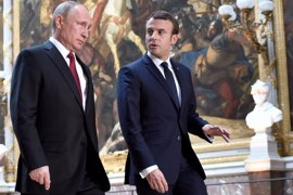 "Macron evita polemizar ante Putin en aras del ""pragmatismo"" político"