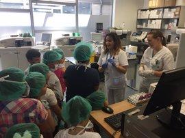 El Hospital Sierra de Segura (Jaén) enseña a alumnos de Infantil y Primaria a cuidar de su salud