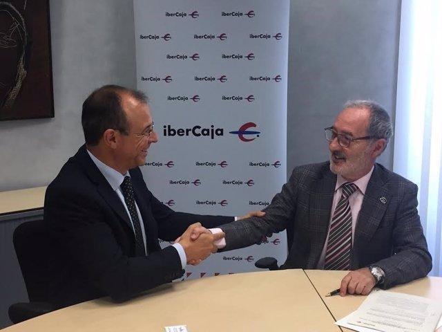 Acuerdo entre Ibercaja y el Colegio de Aparejadores de Zaragoza