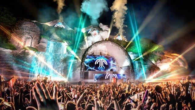 El escenario de Medusa Sunbeach