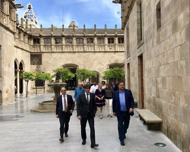 Jordi Turull (PDeCATI pte.C.Puigdemont, vicepte.O.Junqueras