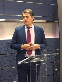Carlos Rojas, diputado del PP