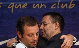 """Bartomeu: """"Si se demuestra que Rosell se benefició económicamente del Barça actuaremos"""""""