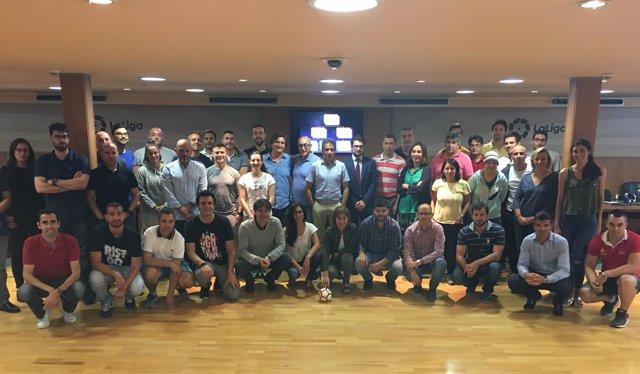 Seminario entrenadores LaLiga4Sports
