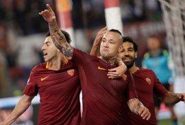 La Roma de Monchi, rival del Sevilla en el Trofeo Antonio Puerta