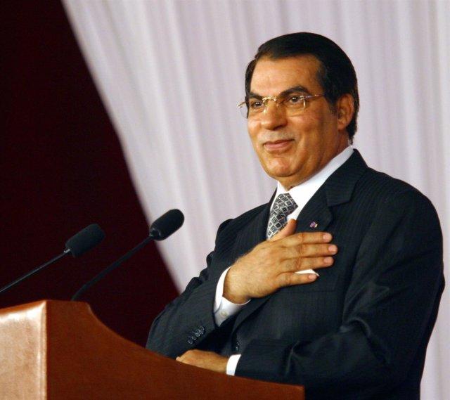 El Ex Presidente Tunecino Ben Alí