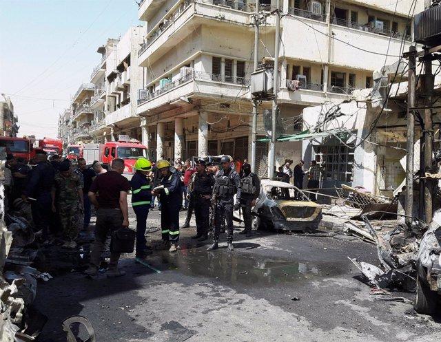 Atentado terrorista en Bagdad en pleno Ramadán