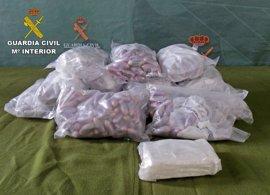 Incautados más de 15 kilos de hachís y cerca de medio kilo de cocaína en Manzanares