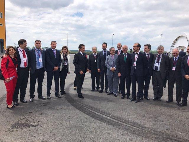 Inauguración de la nueva planta del Grupo Fuertes en Rusia