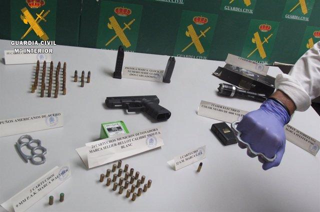 """""""Operación De La Guardia Civil Contra El Trafico Y Tenencia Ilícita De Armas """""""