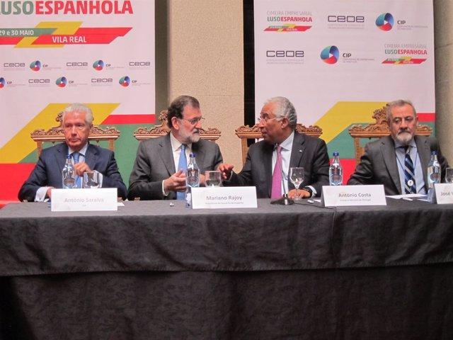 Mariano Rajoy interviene en un seminario empresarial luso-español en Vila Real