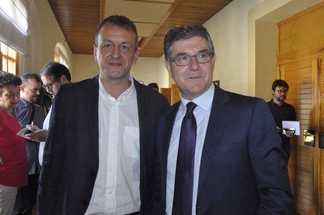 Fernando Rivarés y Vicente Guillén han presidido la primera Bilateral.