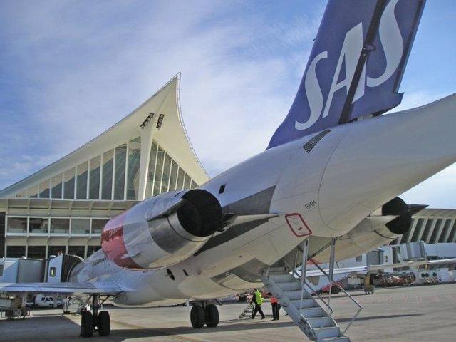 Avión de SAS