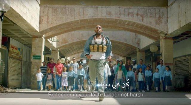 Fragmento del vídeo contra el yihadismo
