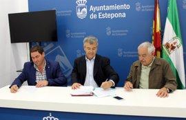 Estepona firma el contrato para la obra del hospital con una inversión de 15 millones y un plazo de 18 meses